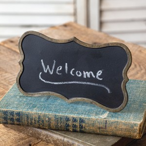 Mini Tabletop Chalkboard Sign - Box of 2