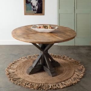 Modern Farmhouse Round Dining Table