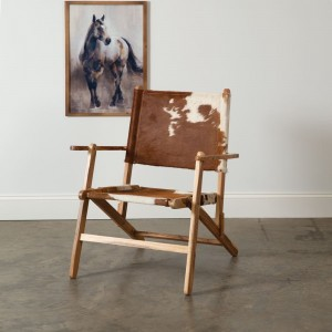 Modern Ranch Folding Chair