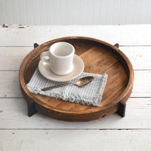 Modern Rustic Wood Tray