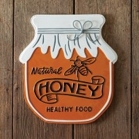 Natural Honey Jar Sign