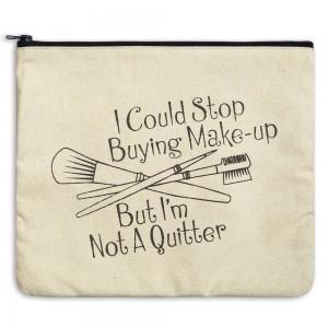 Not a Quitter Travel Bag