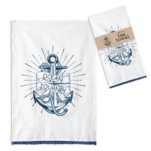 Ocean Journey Tea Towel - Box of 4