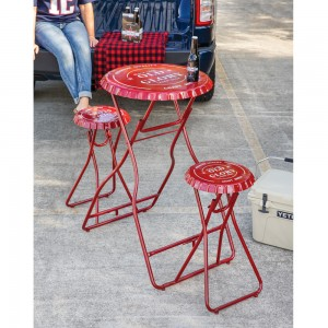 Old Glory Folding Metal Table