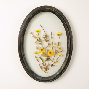 Oval Botanical Wall Decor
