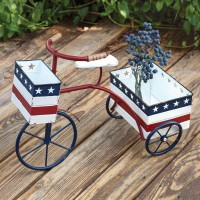 Patriotic Trike Planter