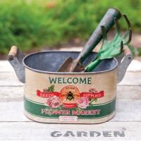 Picker Market Bucket with Handles