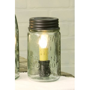 Pint Mason Jar Lamp