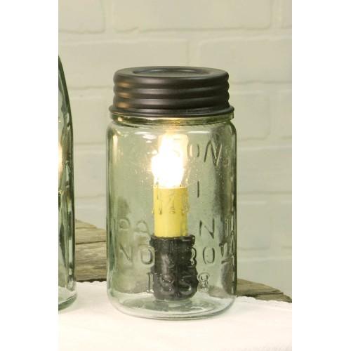 Pint Mason Jar Lamp