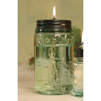 Pint Mason Jar Oil Lamp