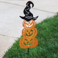 Pumpkin Garden Stake