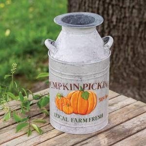 Pumpkin Milk Can