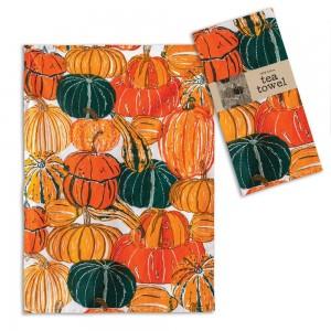 Pumpkins and Squash Tea Towel - Box of 4