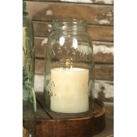 Quart Mason Jar Chimney