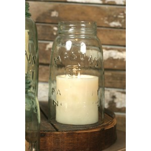 Quart Mason Jar Chimney