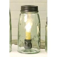 Quart Mason Jar Lamp