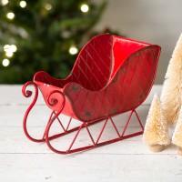 Red Santa Sleigh