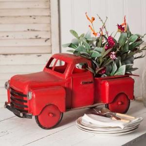Red Truck Garden Planter