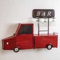 Hanging Truck Wine Bar