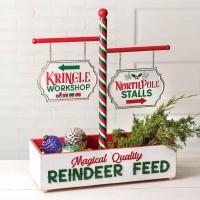 Reindeer Feed Tabletop Display