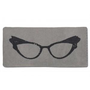 Retro Glasses Eyeglasses Case