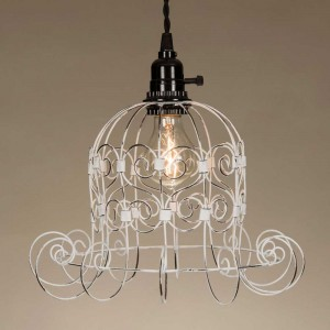 Romantic Shabby Pendant Light