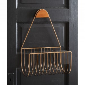 Rose Gold Wall Organizer