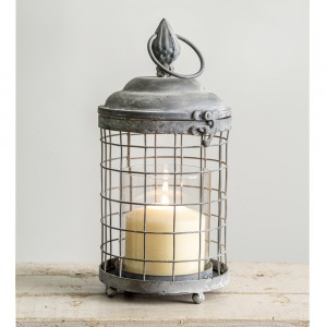 Rounded Cage Candle Lantern