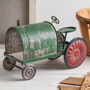Rusty Green Tractor