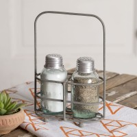 Salt and Pepper Carrier with Shakers