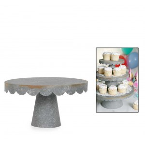 Small Scalloped Cupcake Stand