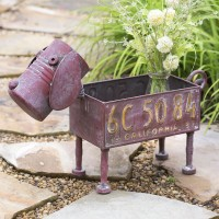Scrappy Dog Planter