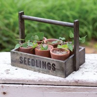 Seedling Pots Caddy