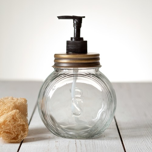 Sellers Soap Dispenser - Antique Brass