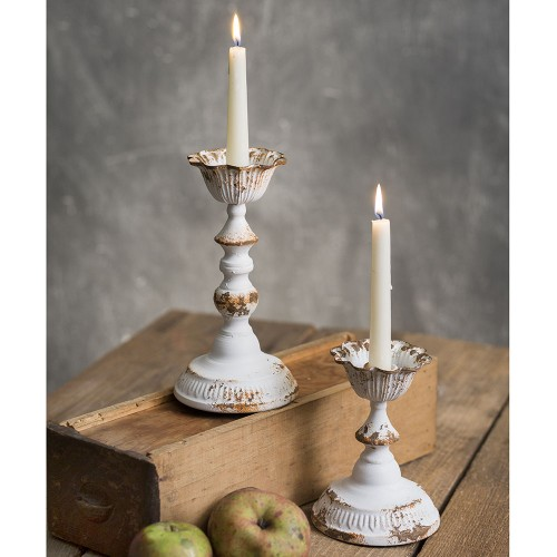 Set of Two Dapheny Tapered Candle Holders
