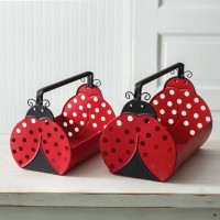 Set of Two Ladybug Carriers
