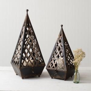 Set of Two Napoleon Lanterns