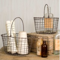Set of Two Nesting Baskets