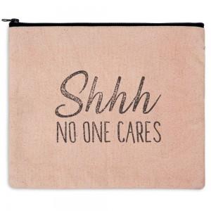 Shhh No One Cares Travel Bag