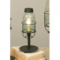 Short Mason Jar Desk Lamp