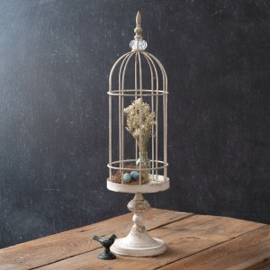 Short Wire Cloche with Stand