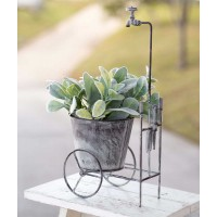 Showered Garden Cart Planter