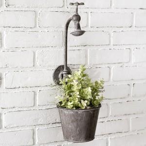 Showerhead Wall Planter