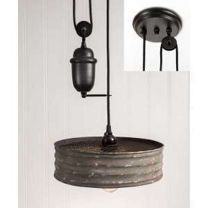Sifter Pulldown Pendant Light