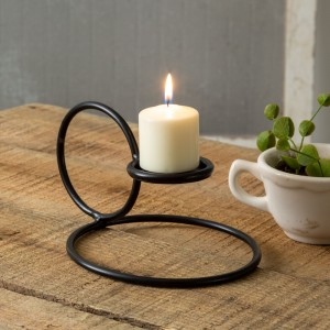 Simple Ring Candle Holder