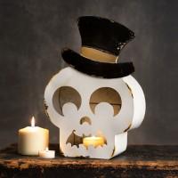 Skeleton Candle Holder