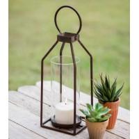 Small Greenville Pillar Candle Lantern