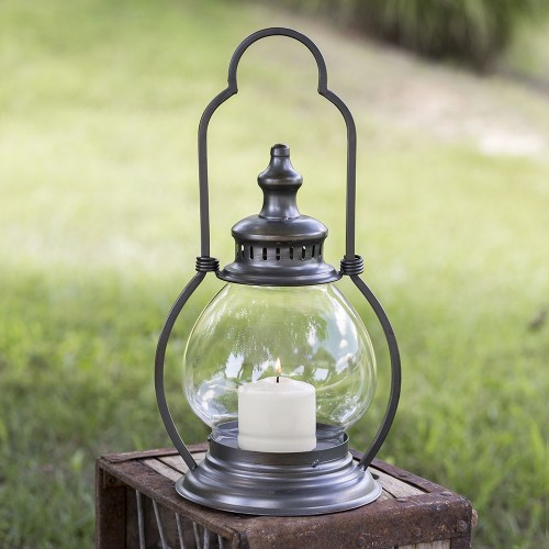 Small Gunmetal Steeple Lantern
