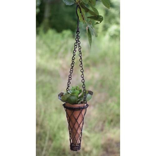 Small Hanging Terra Cotta Pot