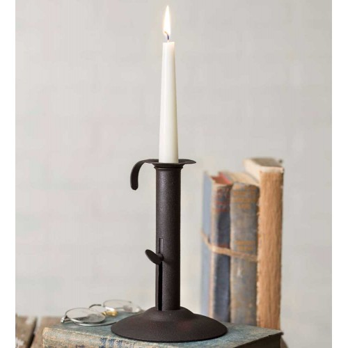 Bulk - Small Hog Scraper Candle Holder